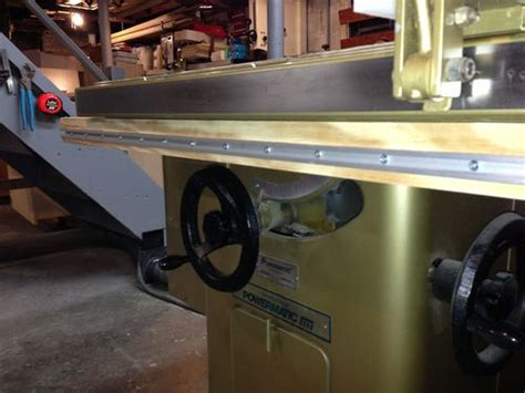 rail saw vs table saw table saw infeed 1 part 1 design and rail build by