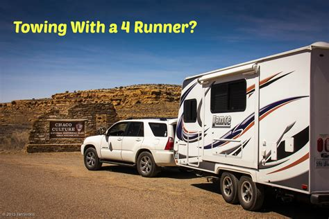 how big a boat can you trailer towing a travel trailer with a 6 cyl toyota 4 runner