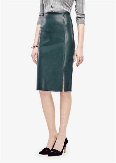 faux leather pencil skirt skirts