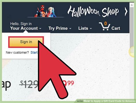 Apply For Amazon Gift Card - 3 ways to apply a gift card code to amazon wikihow
