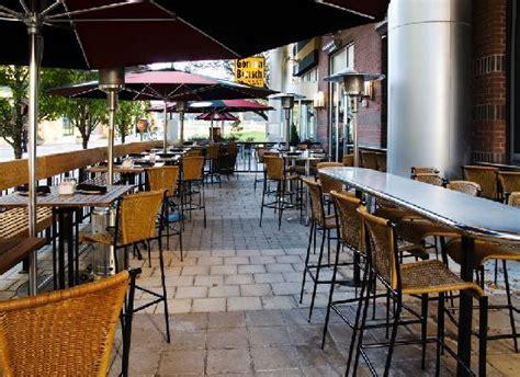 patio dining dallas outdoor patio bar dining picture of gordon biersch brewery restaurant dallas tripadvisor
