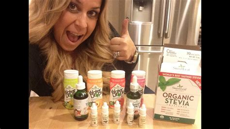 sweet leaf stevia products review youtube