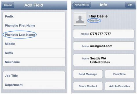 In Name Contact iphone savior teach siri to pronounce contact names with