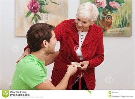Grandmas Gift Cards - grandma s gift royalty free stock photos image 35933888