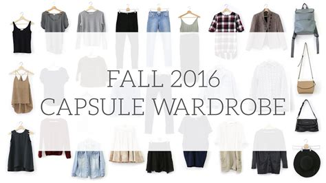 Project 333 Capsule Wardrobe by Fall Capsule Wardrobe Project 333