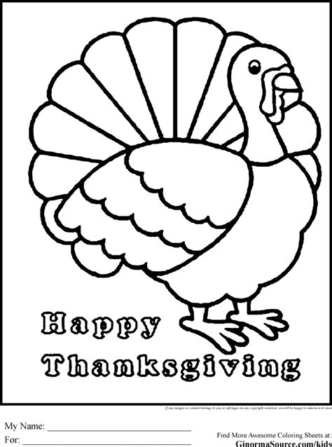 Happy Thanksgiving Coloring Pages Turkey Ginorma Kids Az Thanksgiving Coloring Pages Pdf