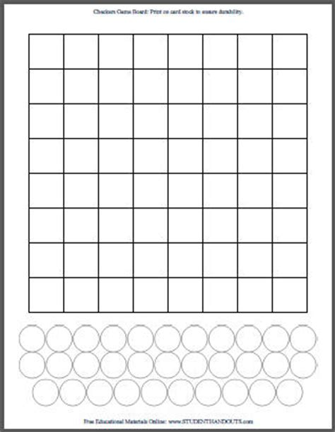 checkers board template 7 best images of printable checkerboard free