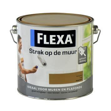 latex voor badkamers gamma gamma flexa strak op de muur muurverf mat goud 2 5 l