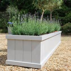 painted garden planter flaunden range by sandman home and