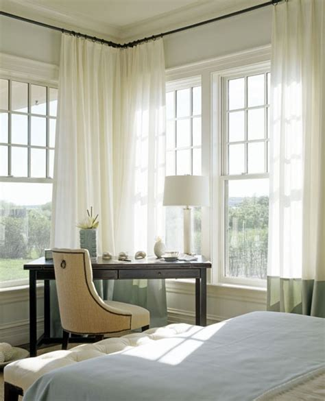 corner window curtain best 25 corner window treatments ideas on pinterest