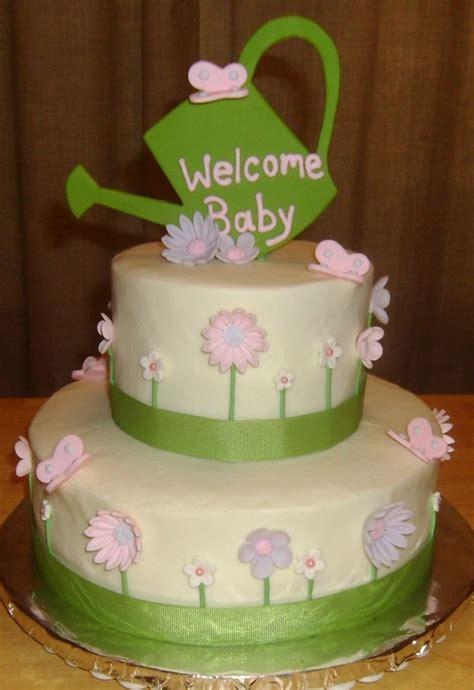 Garden Themed Baby Shower Cakes by Garden Themed Baby Shower Cake Tapia S Cakes