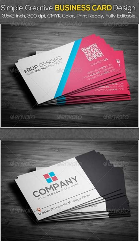 creative flyer design graphicriver business card design graphicriver simple creative