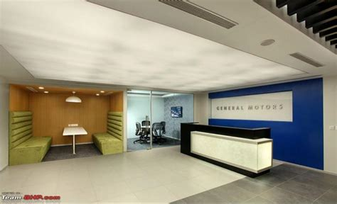 general motors cool new office at gurgaon team bhp