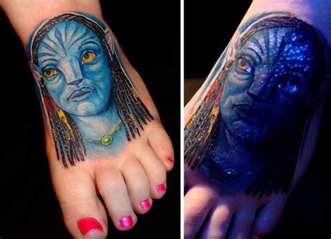 glowing tattoo 30 glow in the tattoos that ll make you turn out the