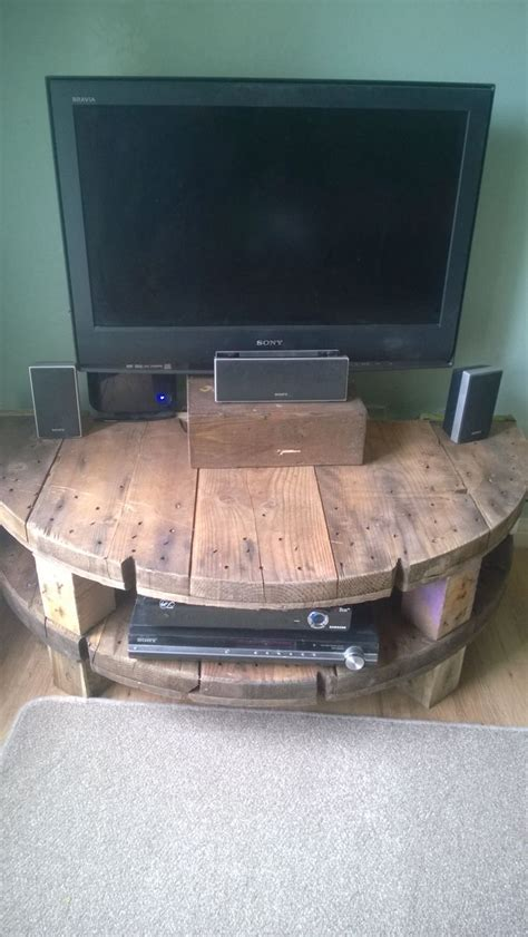 reclaimed wood tv stand plans woodworking projects plans