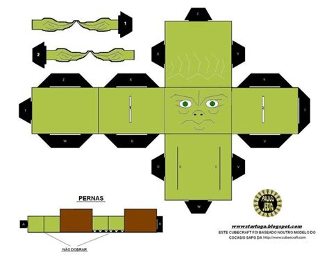 Yoda Papercraft - yoda cubeecraft by paulinone on deviantart