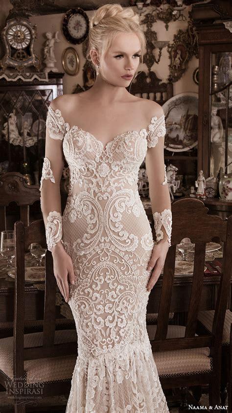 hochzeitskleid halblang naama anat fall winter 2016 wedding dresses spiritual