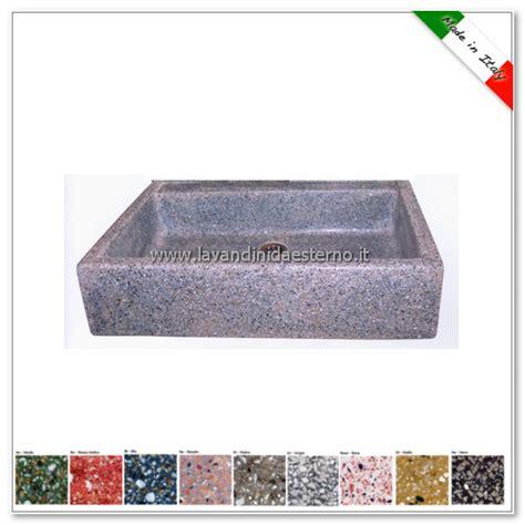 lavelli in cemento da esterno lavello da giardino acquaio in graniglia colorata 341