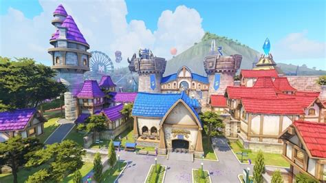 theme park world windows 10 overwatch gets theme park like blizzard world map