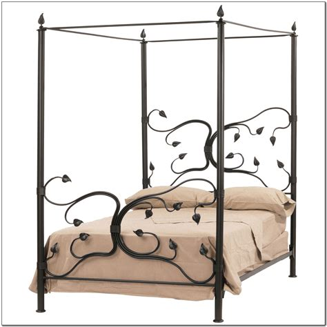 wrought iron canopy bed wrought iron beds with canopy beds home design ideas