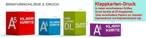 Postkarten Drucken Auf Rechnung by Druckerei Online F 252 R Klappkarten Und Briefumschl 228 Ge Der