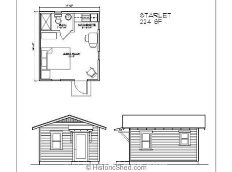 bunkie floor plans 209 best bunkie house for cottage life images on