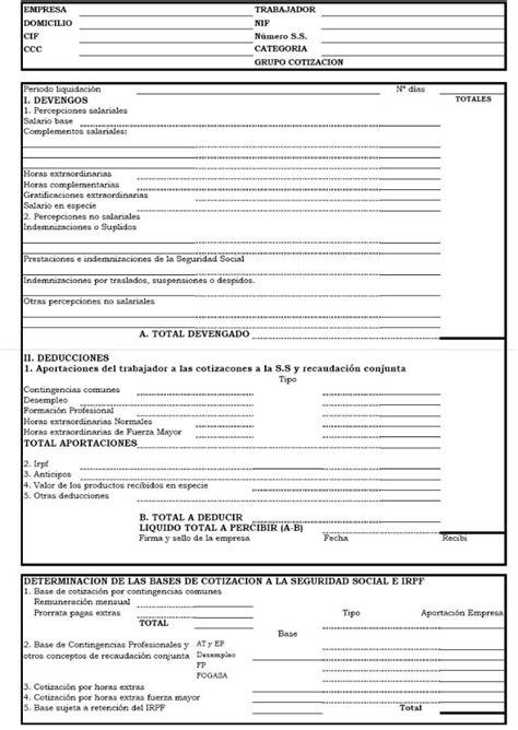ejemplos de nomina nomina ejemplo colombia 2016 el nuevo modelo de n 243