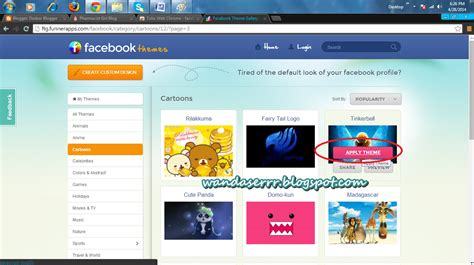 facebook themes html pharmacist girl blog cara mengubah background facebook