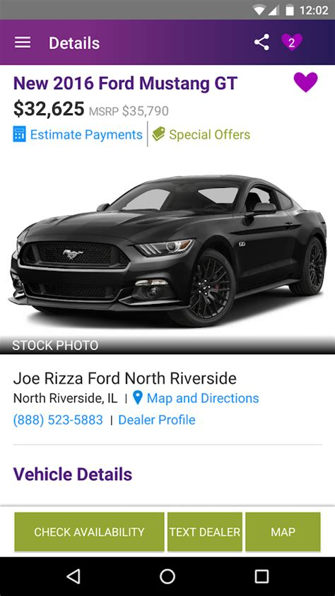 Used Car Apps For Android by Cars New Used Cars Android Apps On Play