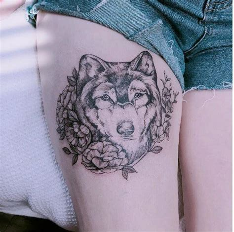 wolf tattoos for females 130 best wolf designs for 2018 page
