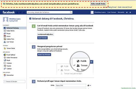 membuat email baru fb cara membuat akun facebook fb baru dengan mudah