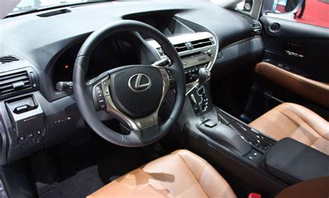 Lexus 450h Interior by Live Photos Of The 2013 Lexus Rx 450h Lexus Enthusiast