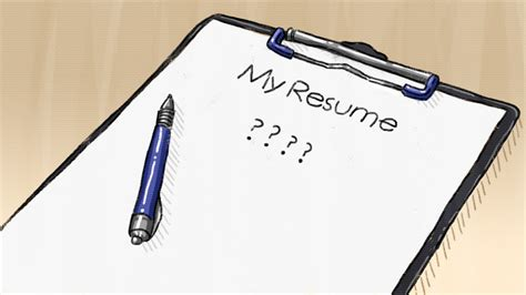 Resume Clip by Resume Clipart Clipground