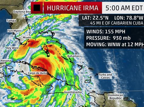 hurricane irma hit hurricane irma will likely be a category 4 or 5 hit to florida