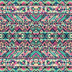Striped Duvet Covers Quot Pink Turquoise Girly Aztec Andes Tribal Pattern Quot By