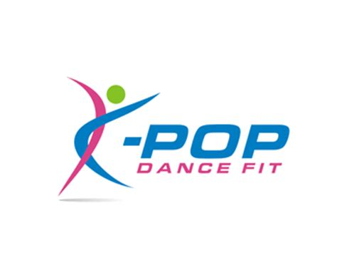 kpop design contest logo design entry number 45 by logosaya k pop dance fit