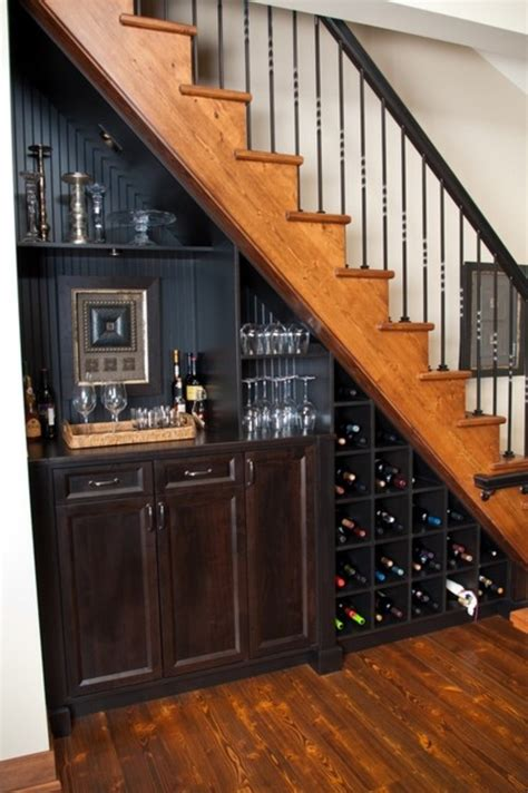 under stair bar 50 hallway under stairs storage ideas to try in your