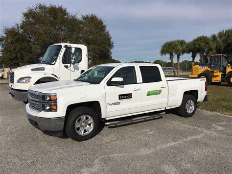 electric pickup teco adds plug in electric pickup trucks to its green fleet