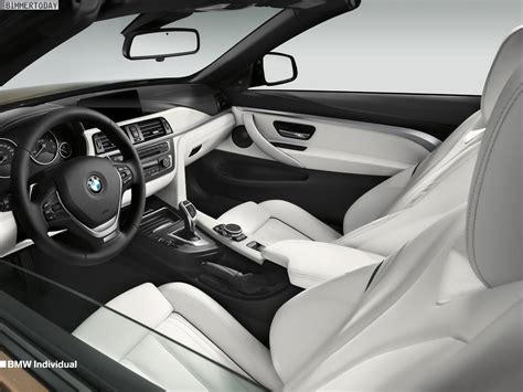 Bmw Opal White Interior by Bmw Individual For 4 Series Coupe And Convertible