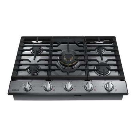top gas cooktop gas cooktops cooktops the home depot