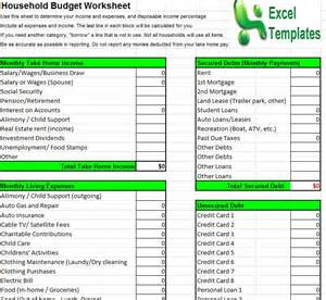 Household Budget Template by Household Budget Template Household Budget Calculator