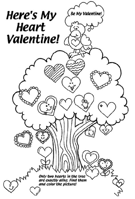 crayola free coloring pages holidays valentine s day here s my heart valentine coloring page crayola com