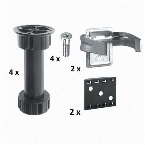 cabinet levelers kit richelieu hardware