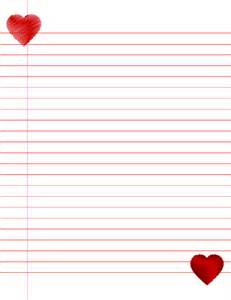 What To Write On Paper 14 Lined Paper Templates Excel Pdf Formats