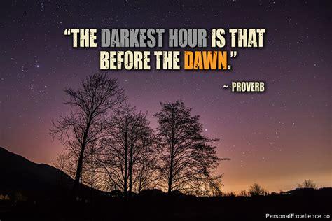 darkest hour bible quotes darkest hour quotes quotesgram