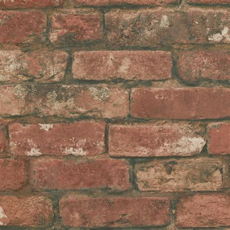 Decorative Bricks Uk by Decor Rustic Brick Wallpaper Ebay