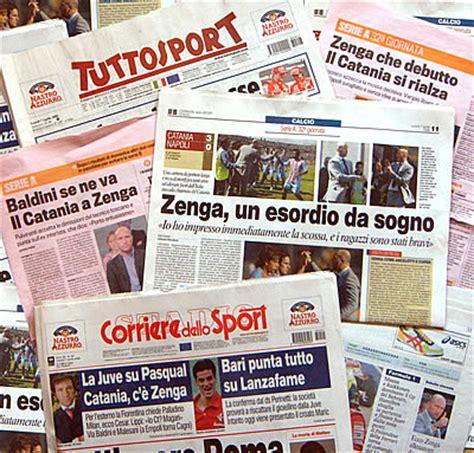 rassegna sta interno prime pagine quotidiani sportivi 23 marzo 2011 ultime