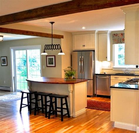 Kitchens Layout And Beams On Pinterest Ranch House Kitchen Remodel Plans
