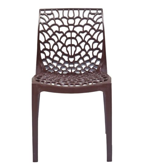 supreme web store supreme web chair set of 6 globus brown buy at