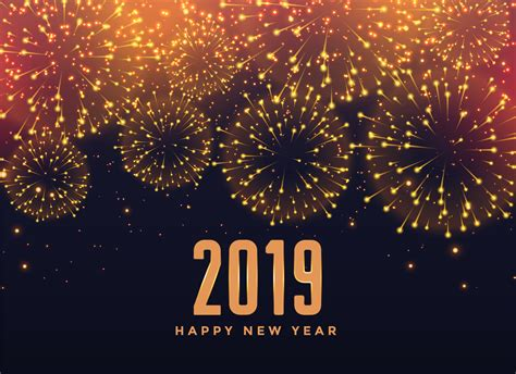 happy  year fireworks background   vector art stock graphics images